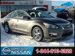 2015 Nissan Altima 2.5 SV, Heated Cloth, Sunroof, Remote Start