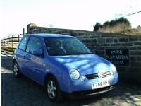 Volkswagen Lupo S In Blue, 2001 Y reg, Service History And Service Receipts,