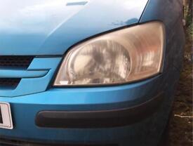 2002-2005 Hyundai Getz headlights (breaking)