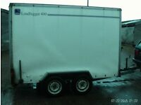 box/catering trailer