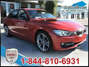 2013 BMW 328i xDrive Sport Line, Heated Leather, Sunroof 1 Owner