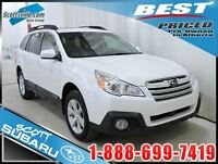 2013 Subaru Outback Limited, Automatic, 6cyl, Leather, Sunroof,