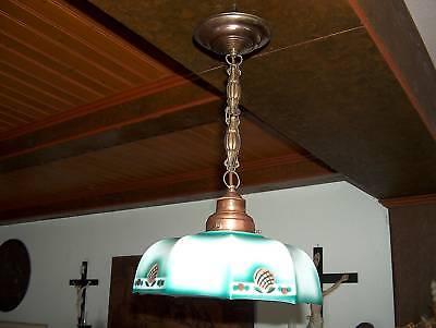 Jugendstil  Lampe Deckenlampe Original ca. 1910