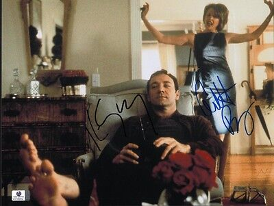 Kevin Spacey Annette Bening Signed 11X14 Photo 2Coas Gai Coa Blowout Sale Price