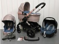 iCandy Peach 3 in AZURE !!! FULL TRAVEL SYSTEM