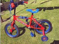 Kids Spiderman Bike as new