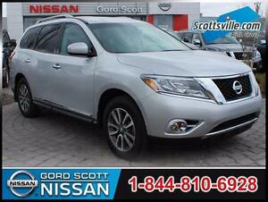 2014 Nissan Pathfinder SL 4WD, Leather, Nav, Bose, DVD, 1 Owner