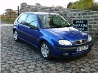 Citroen Saxo i Furio In Blue, 2002 02reg, Only One Former Keeper, Last Owner Since 2003