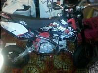 160 pit bike