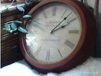 classic style wall clock 33 cm diameter