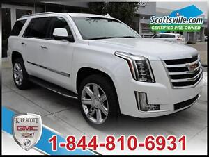 2016 Cadillac Escalade Luxury, Leather, Sunroof, Nav, 1 Owner