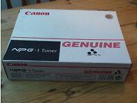 Canon NPG-1 toner - black - (190g x 4)