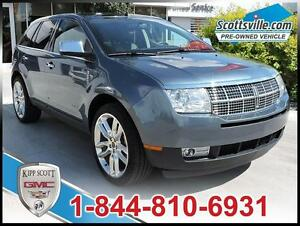 2010 Lincoln MKX AWD, 3.5 V6, Heated Leather, Sunroof, Nav, THX