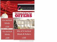 Vertical Blinds - Refresh your homes with beautiful blinds at this Christmas.