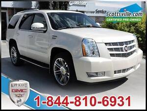 2013 Cadillac Escalade Ultra Luxury, Leather, Sunroof, DVD