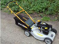 Ryobi Self-Propelled Petrol Lawnmower as New Condition
