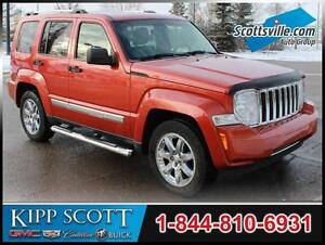 2009 Jeep Liberty Limited 4x4, Leather, Nav, Sunroof, Loaded!