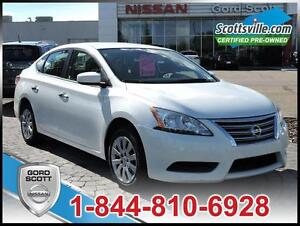 2015 Nissan Sentra S, Cloth, Bluetooth, iPod USB, A/C, Cruise