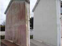 Driveway cleaning roof cleaning render cleaning soft washing building cleaning