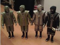 dr who figures x 4 robots vgc pick up only please