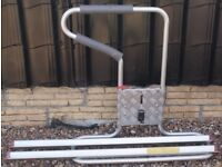BIKE CARRIER QUALITY FIAMMA 2 CYCLE REAR MOUNT, EXCELLENT CONDITION ABSOLUTE BARGAIN £20 CAN DELIVER