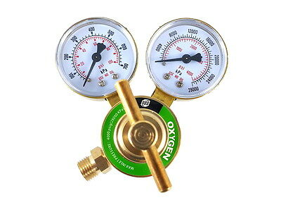 Sa - Oxygen Regulator Welding Gas Gauges - Cga-540 - Ldb