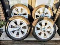 BMW Wheels with Nokian Winter Tyres