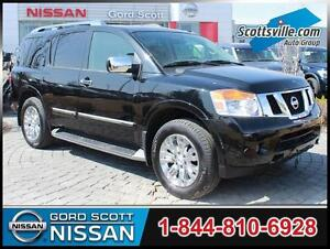 2015 Nissan Armada Platinum 4WD, Leather, DVD, Nav, Loaded