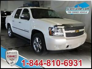 2013 Chevrolet Avalanche LTZ White Diamond Pkg Sunroof, Nav, DVD