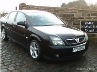 Vauxhall Vectra Energy In Black, 2004 04 reg, Service History, MOT November 2017 With No Advisories