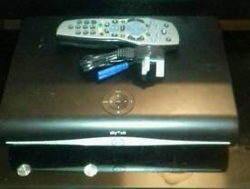 Sky Plus HD Box With Remote And Power Lead Excellent Condition
