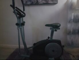 York Fitness Cross Trainer / exercise bike combo