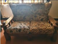 Open to offers - Bespoke Sofa and armchairs- up cycle project