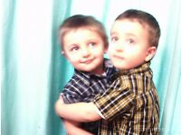 Live-in au pair needed near London for delightful energetic 3 year old, twin boys