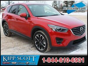 2016 Mazda CX-5 GT AWD, Heated Leather, Nav, Sunroof, 1 Owner