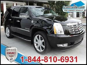 2012 Cadillac Escalade Standard, Leather, 22 In Wheels, Sunroof