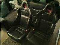 Honda Civic Type R Leather seats and doorcards ep3