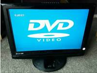 "22"" Technika LCD built-in digital freeview and DVD PLAYER with Docking for ipod"
