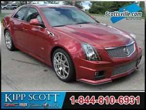 2012 Cadillac CTS-V Sedan, 1 Owner, Supercharged 6.2L V8, Clean