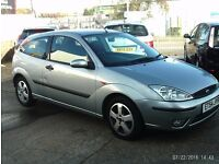 BARGAIN 2005 FORD FOCUS WITH MOT 1.6 HPI CLEAR