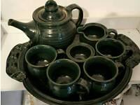 tea set by Liz Cameron Ceramics