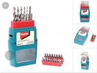 Makita 29pc drill and screwdriver set