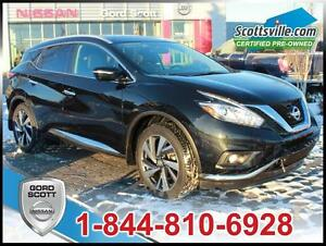 2015 Nissan Murano Platinum AWD, Heated Leather, Nav, Sunroof