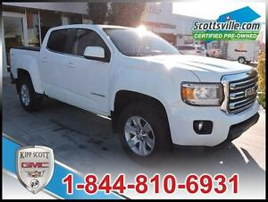 2015 GMC Canyon SLE 4WD, Cloth, Cruise, A/C, One Owner