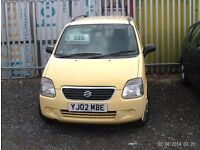 LOW MILEAGE SUZUKI WAGON R 1.3 DRIVES PERFECT CHEAPEST IN THE COUNTRY AT £495