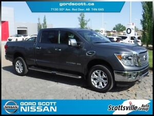 2017 Nissan Titan XD Gas SL, Premium Audio, Leather, Nav, Loaded
