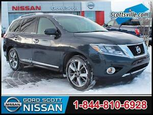 2014 Nissan Pathfinder Platinum, Leather, Bose Audio, Sunroof