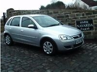Vauxhall Corsa Breeze In Silver, 2005 05 reg, Service History