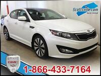 2013 KIA OPTIMA SX TURBO; NAV, LEATHER, PANORAMIC SUNROOF