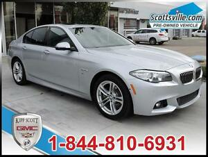 2014 BMW 528i xDrive M Sport Package, Leather, Nav, Sunroof